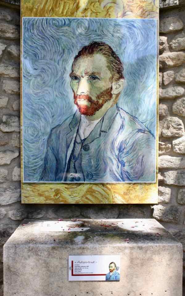 Vincent Van Gogh self-portrait, Saint-Remy-de-Provence
