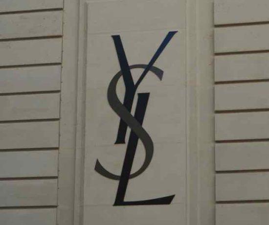 Iconic YSL symbol