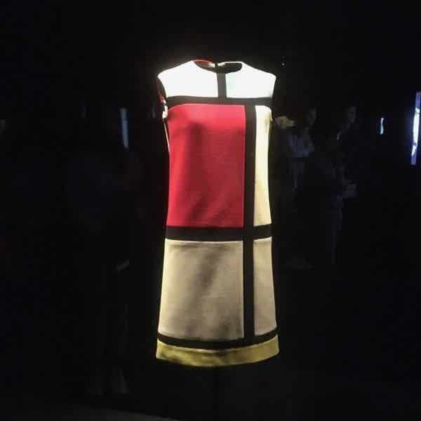 Mondrian dress at the Yves Saint Laurent Museum (J. Chung)