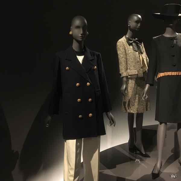 Pea jacket by Yves Saint Laurent (J. Chung)