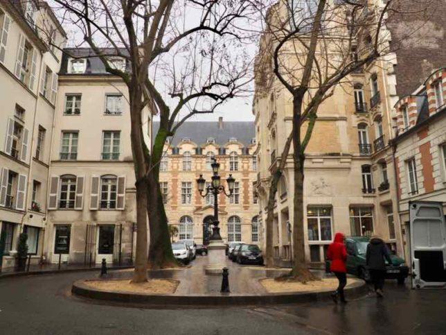 Place de Furstemberg, Paris (J. Chung)