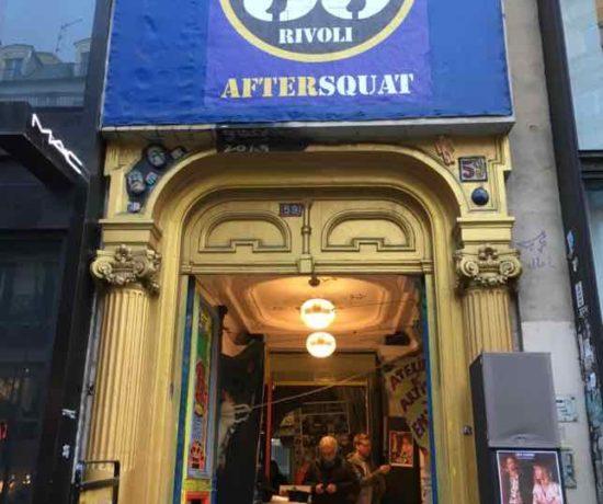 59 Rivoli entrance: studios for artists in Paris