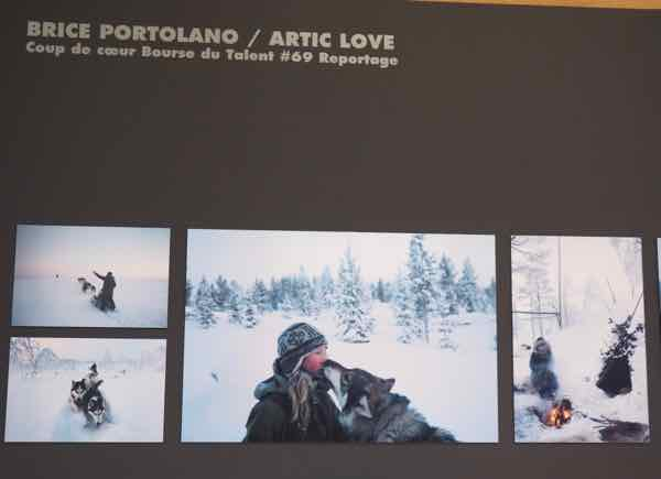 Brice Portolano exhibit at the Francois-Mitterrand library (J. Chung)