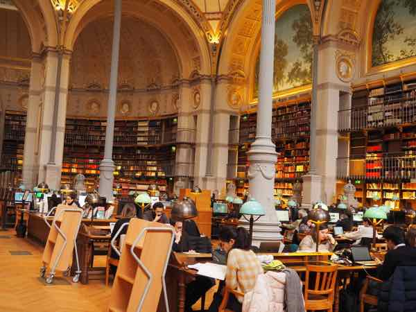 National Library of France-Richelieu Site: Labrouste Reading Room (J. Chung)