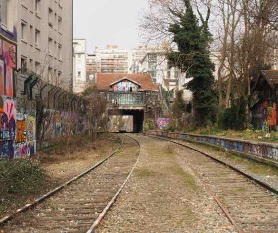 Abandoned railway La Petite Ceinture (J. Chung)