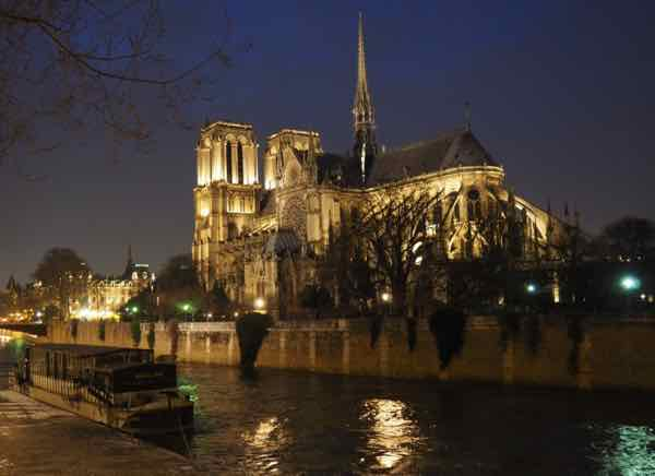 Notre Dame Cathedral, Paris during Trip # 30 (J. Chung)
