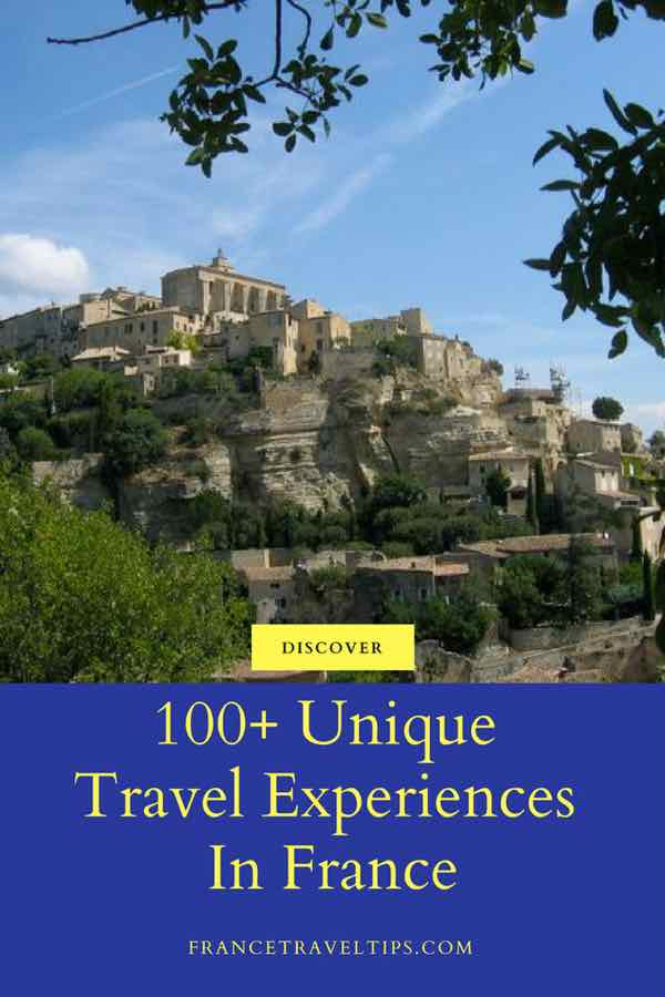 100+ Unique Experiences In France