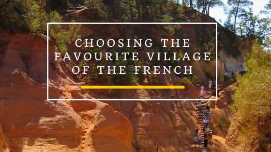 Choosing The Favourite Village Of The French
