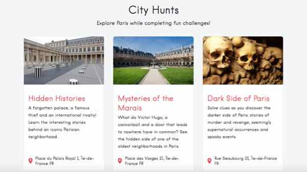 City Hunts-Paris In Action