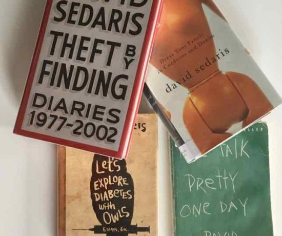 Collection of David Sedaris books