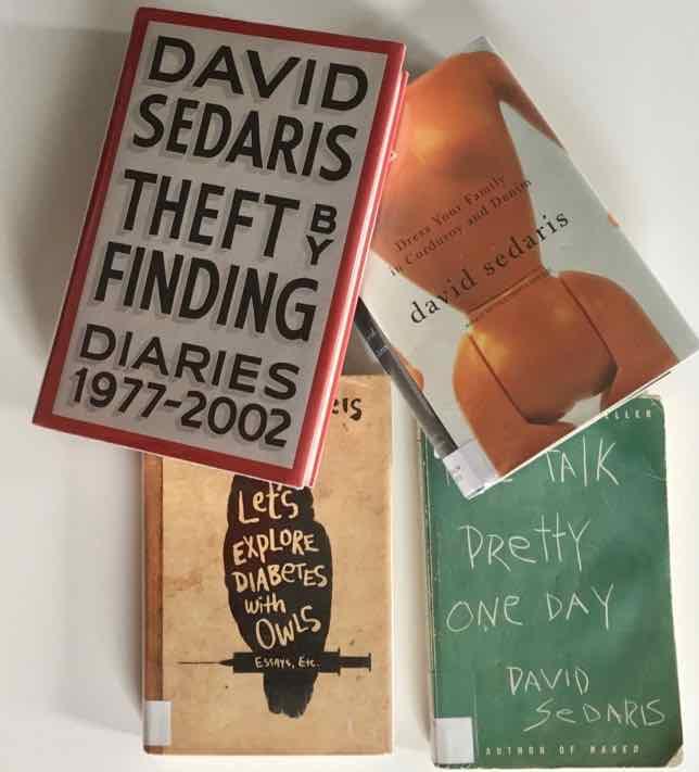 Collection of David Sedaris books