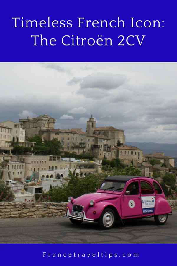 Timeless French Icon- The Citroen 2CV