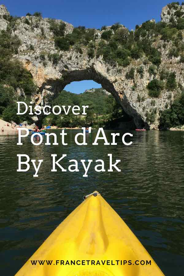 Discover Pont d'Arc by kayak