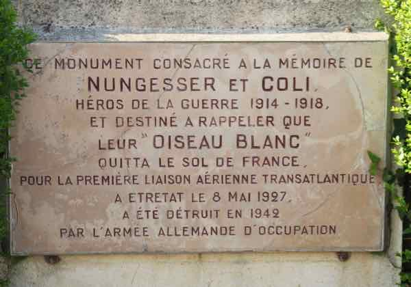 Monument to Nungesser et Coli