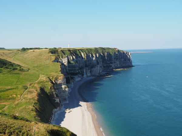 On the way to Falaise d'Aval, Etretat