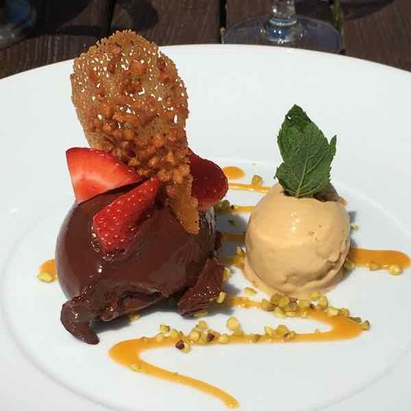 Dessert- Le Guanaja—a chocolate mousse