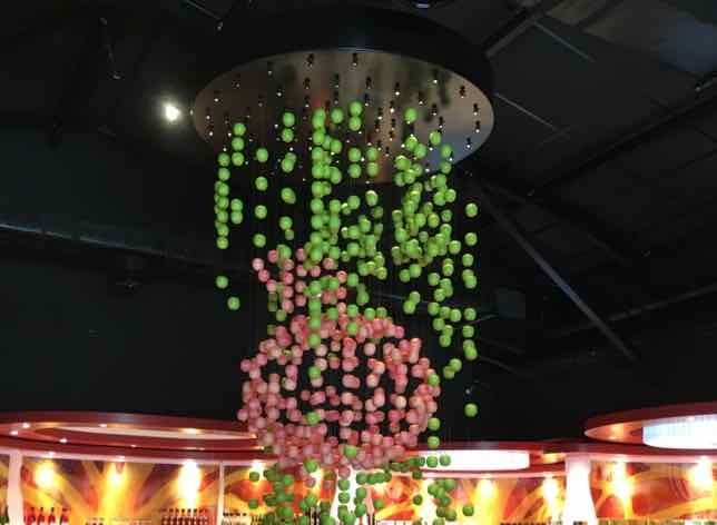 Apples in the Calvados Experience boutique-multi-sensory experience devoted to Calvados