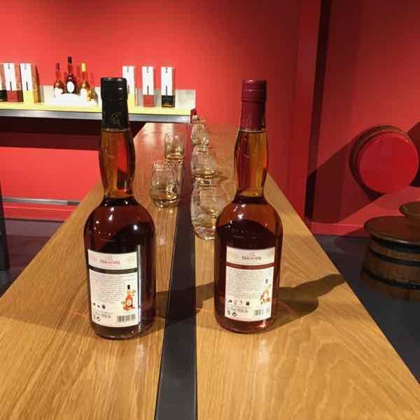 Calvados tasting at the Calvados Experience (J. Chung)