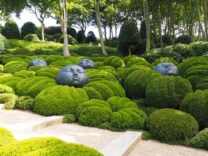 Le Jardin Emotions at Jardin d'Etretat