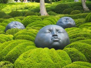 Le Jardin Emotions at Jardin d'Etretat