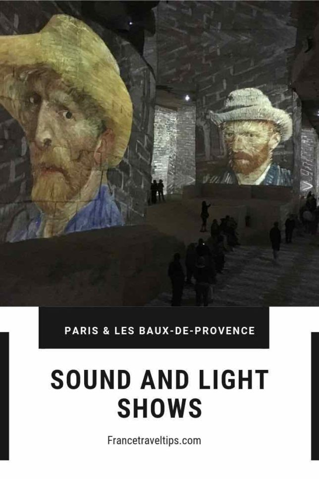 Sound and light shows in Paris and Provence 2 (Pinterest)
