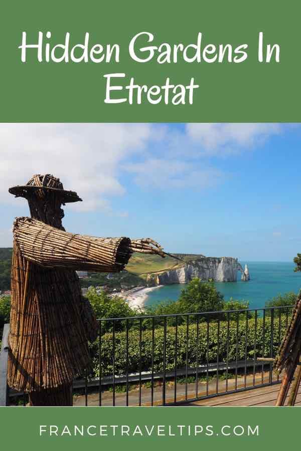 Hidden Gardens In Etretat