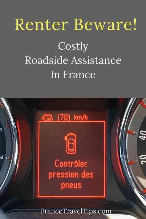 Renter Beware! Costly Roadside Assistance In France