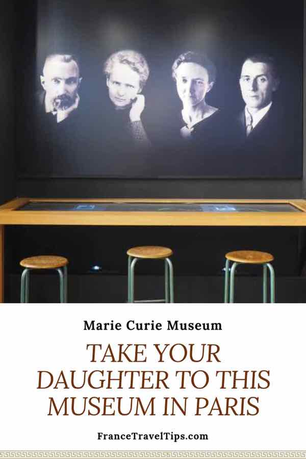 Take your daughter to this museum in Paris: Marie Curie Museum