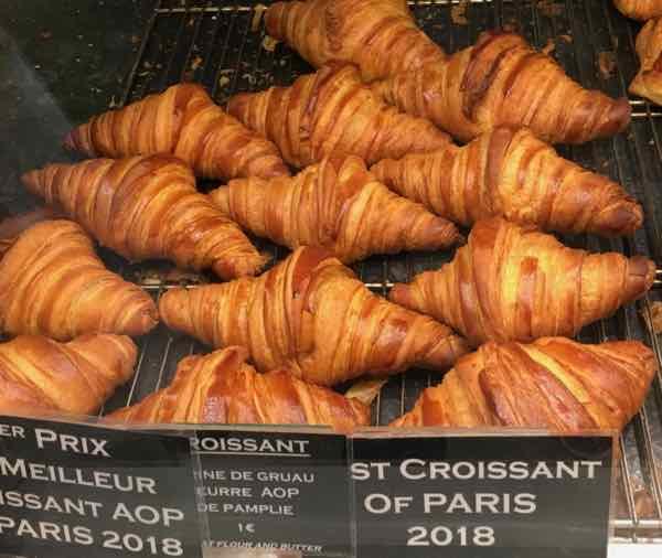 2017 Best croissant in Paris-La Maison d'Isabelle