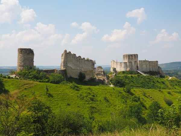 Chateau Gaillard in Les Andelys (J. Chung)