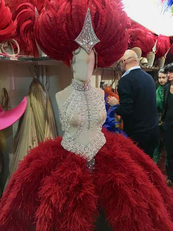Costumes at the Moulin Rouge