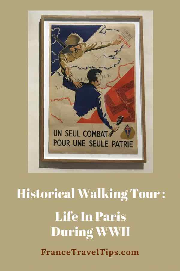 Historical Walking Tour- Life In Paris During WWII
