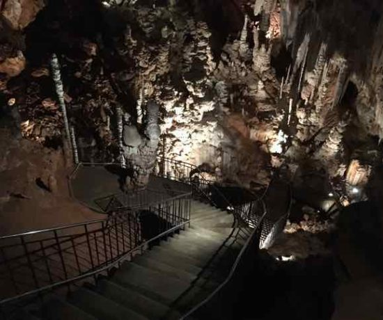 La Grotte-Aven d'Orgnac-Caves at Aven d'Orgnac