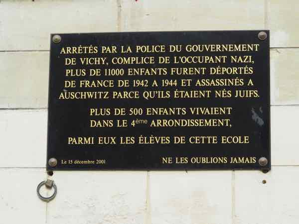Recognition of the French complicity and assassination of Jews