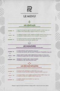 Daily Pic menu