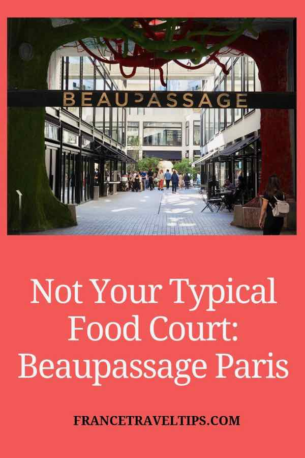Not your typical food court-Beaupassage Paris