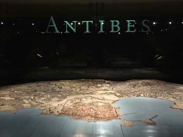 Antibes-Relief Map Museum In Paris