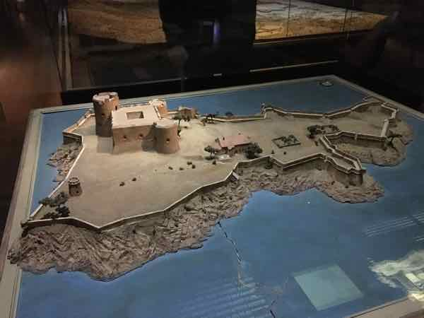 Chateau d'If-Relief Map Museum In Paris