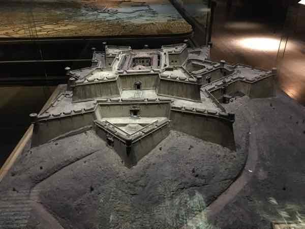 Fort Saint-Nicolas (Marseille)-Relief Map Museum In Paris