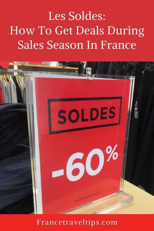 Les Soldes-Sales In France