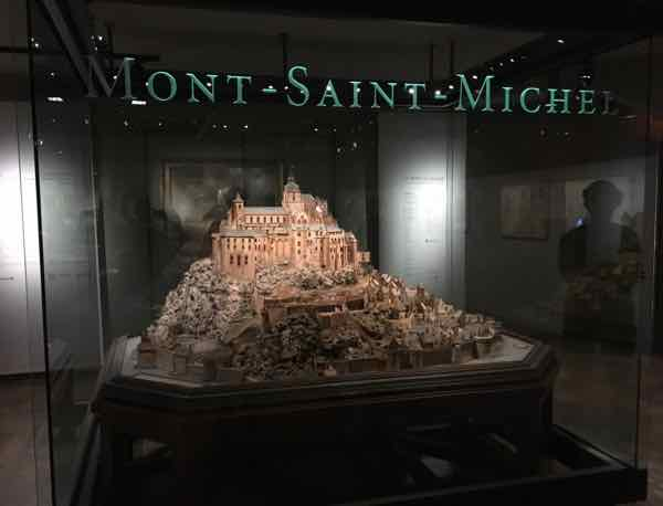Mont Saint-Michel- Relief Map Museum In Paris