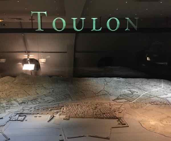 Toulon-Relief Map Museum In Paris