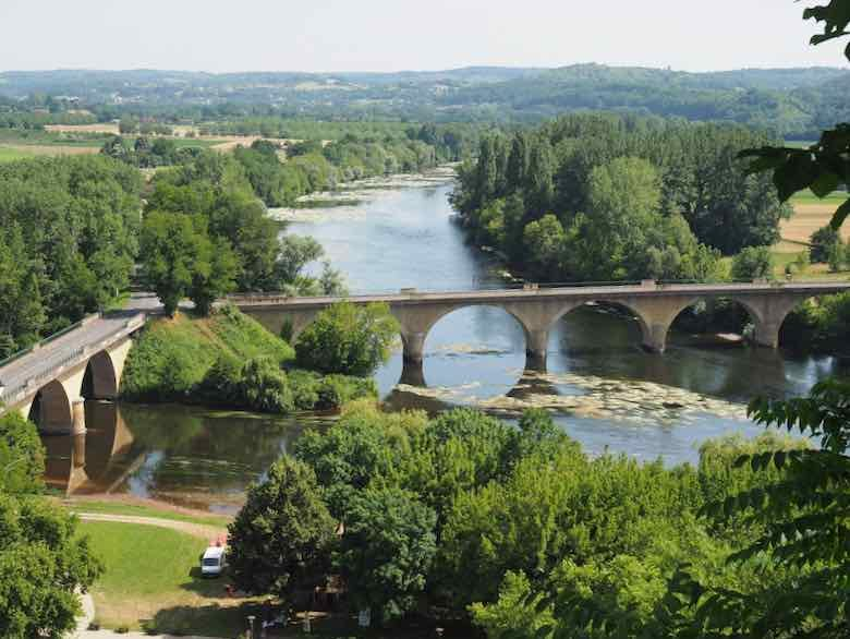 View from Jardins des Limeuil -Most Beautiful Villages of France (J. Chung)