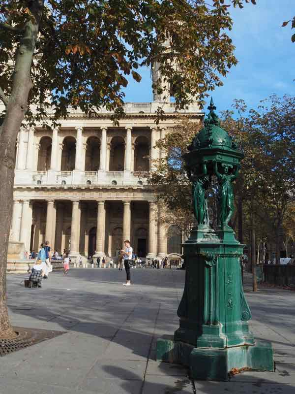 Wallace Fountain at St. Sulpice Square, Paris (J. Chung)