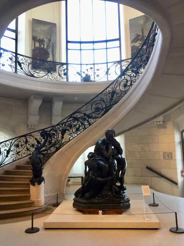 Grand staircase in Petit Palais, Paris (J. Chung)