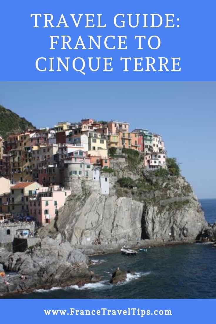 France to Cinque Terre