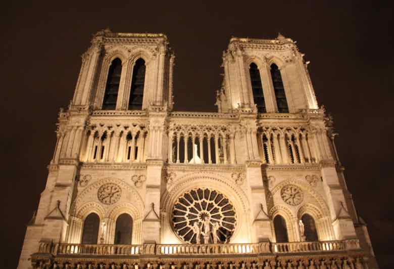 North and south towers-Notre-Dame Cathedral, Paris (J. Chung)