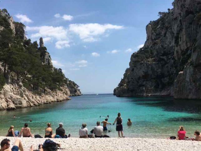 Cove at Calanque d'En Vau (J .Chung)
