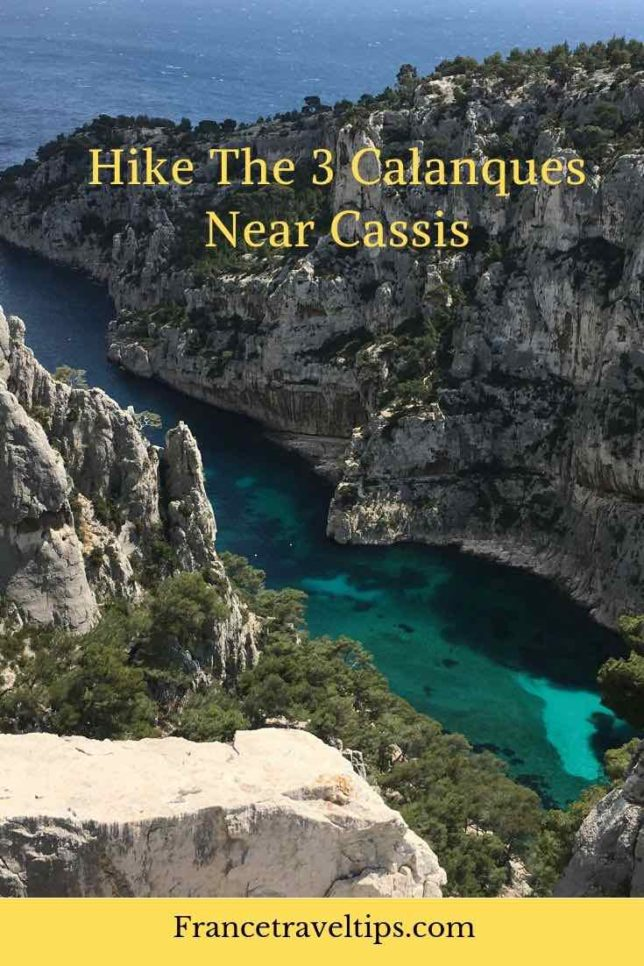 Hike the 3 calanques near Cassis (Pinterest)