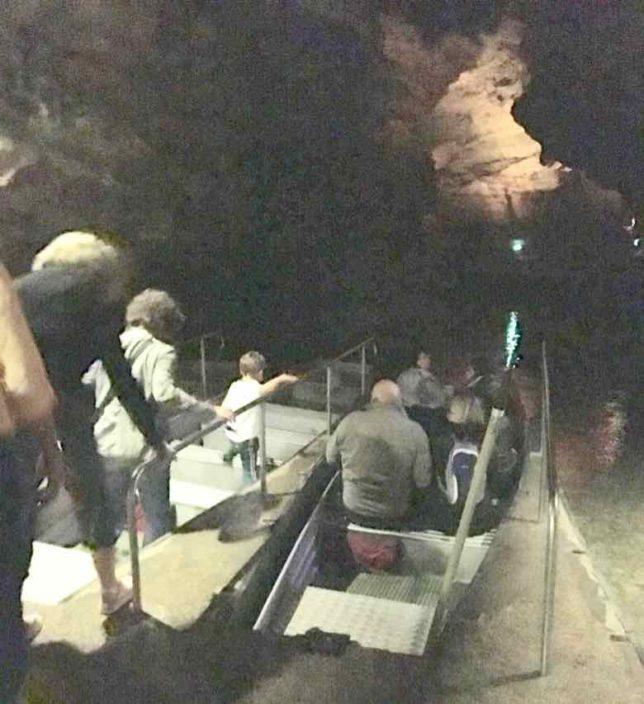 Boat ride at Gouffre de Padirac (J. Chung)